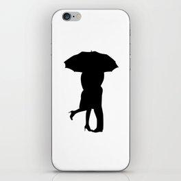Under The Umbrella Of Love iPhone Skin