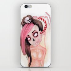 Pink Noise Pain iPhone & iPod Skin