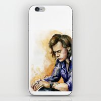 harry iPhone & iPod Skins featuring HARRY by Seefirefly