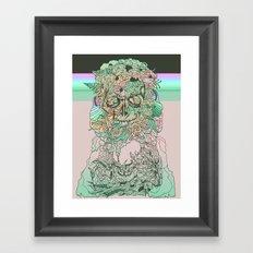 l o s t w o r d s Framed Art Print