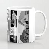 viking Mugs featuring Viking by Céline Solmini