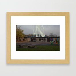 Dark Entries Framed Art Print