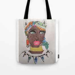 The Black Panther is Female Tote Bag