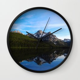 Reflections of Idaho Wall Clock