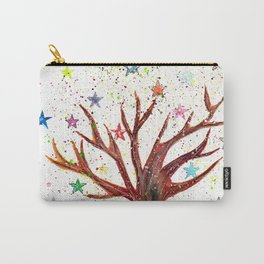 Star Tree Illustration Art Carry-All Pouch