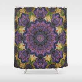 Violet Expansive Shower Curtain