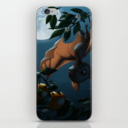 Bat Fruit iPhone Skin