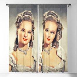 Peggy Cummins, Vintage Actress Blackout Curtain