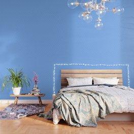 Hearts on Sky Blue Wallpaper