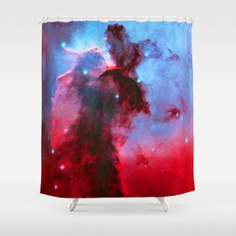 Eagle Nebula Stellar Spire Shower Curtain
