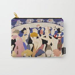 Dancing couples in jazz age nightclub Carry-All Pouch