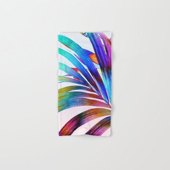 Multicolor Palm Leaf Hand & Bath Towel