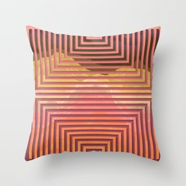 TOPOGRAPHY 2017-015 Throw Pillow