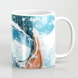 climber in the everest Coffee Mug