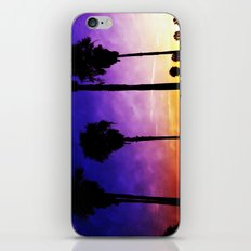 Purple Sunset iPhone & iPod Skin
