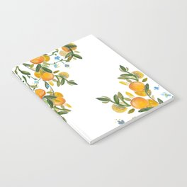 A Bit of Spring and Sushine Trailing Oranges Notebook