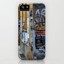 BERLIN - Street photography - slap tag iPhone Case