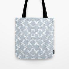 BlueGray Moroccan Tote Bag