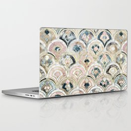 Art Deco Marble Tiles in Soft Pastels Laptop & iPad Skin