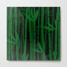 Bamboo trees Metal Print