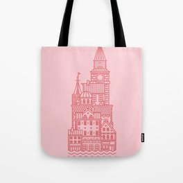 Copenhagen (Cities series) Tote Bag