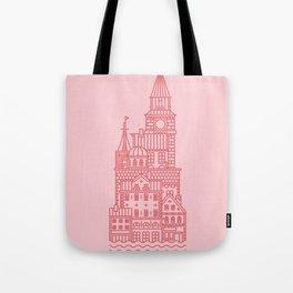 Copenhagen (Cities series) Tote Bag