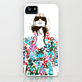 Ultimate Fashion Illustration by MrMAHAFFEY iPhone Case