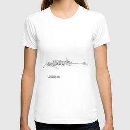 Star Wars Vehicle Speeder Bike T-shirt