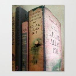 Pink Poe Canvas Print
