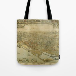 Galveston, Texas 1885 Tote Bag