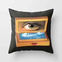 The poem object of dreams  Throw Pillow