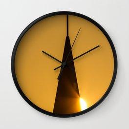 Sunrise & Steeple Wall Clock