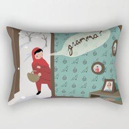 Little Red Rectangular Pillow