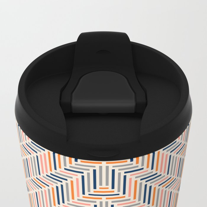 Herring Cream Metal Travel Mug