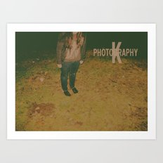 K Photography Logo-1 Art Print