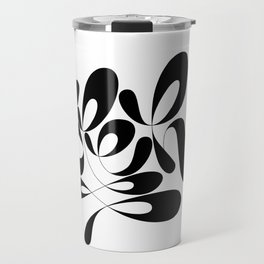 bleh! lettering Travel Mug