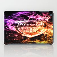 arsenal iPad Cases featuring ARSENAL by Acus