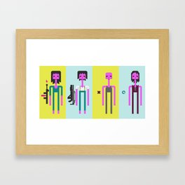 ALIEN(S)³ - Ellen Ripley Icons Framed Art Print