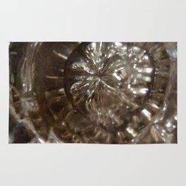 Glass door knob antique Rug