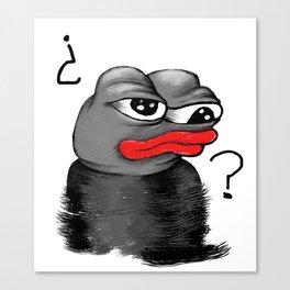 PEPE Za Frog Canvas Print