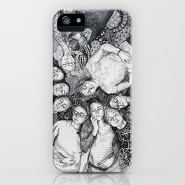 Closed Eyes-ISF 10 iPhone Case