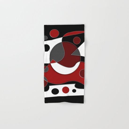 Abstract #515 Hand & Bath Towel