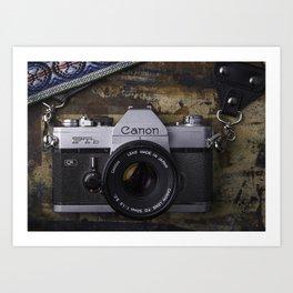 Canon Film Art Print