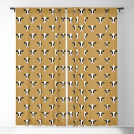 Dairy Cows (Mustard) Blackout Curtain