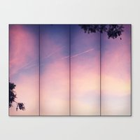 frames Canvas Prints featuring Frames by Leandro