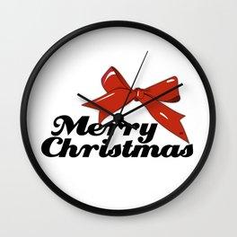 Merry Christmas #holidays #xmas #kirovair #design Wall Clock