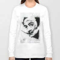 dali Long Sleeve T-shirts featuring Dali by Hey Harriet