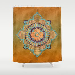 Mandala Ornament Shower Curtain