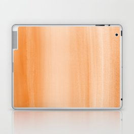 Touching Orange Watercolor Abstract #2 #painting #decor #art #society6 Laptop & iPad Skin