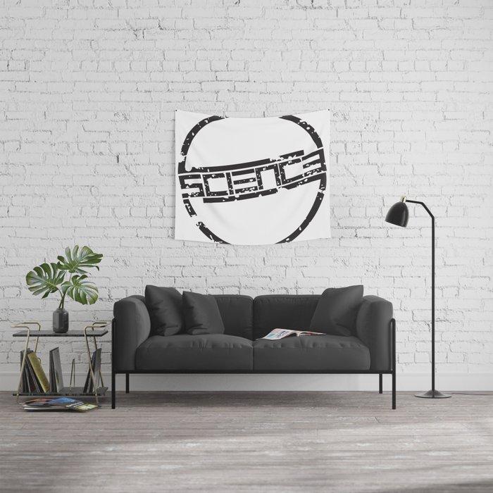 Circle Logo Wall Tapestry